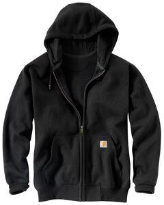 Carhartt Rain Defender Paxton Heavyweight Zip Front Hooded Sweatshirt, , hi-res