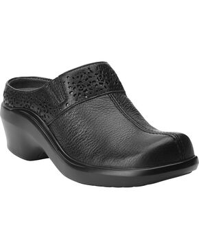 Ariat Women's Santa Cruz Leather Mules, Black, hi-res