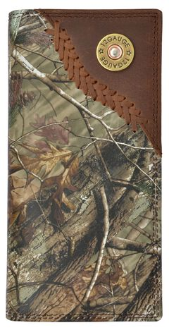 3D Badger Camo Leather Outdoor Rodeo Wallet, , hi-res