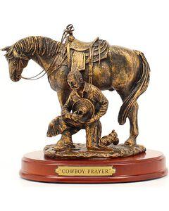 "Western Moments ""Cowboy Prayer"" Statue, , hi-res"