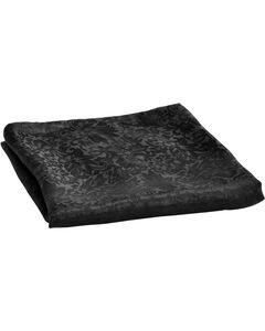 Black Jacquard Silk Wild Rag, , hi-res