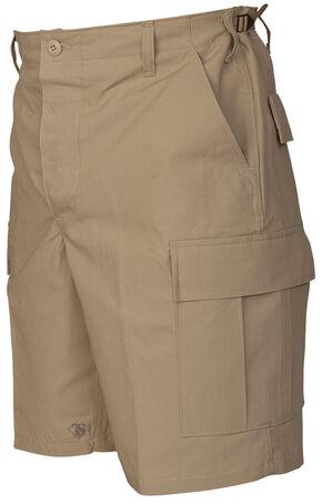 Tru-Spec Men's Khaki BDU Shorts, Khaki, hi-res