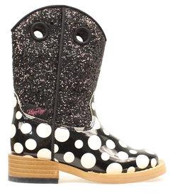 Blazin Roxx Toddler Girls' Pearl Polka Dot Boots, , hi-res