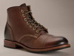 Frye Men's Logan Cap Toe Boots, , hi-res