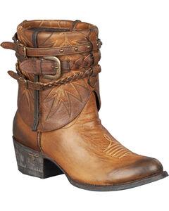 Lane Dove Short Harness Boots - Round Toe, , hi-res