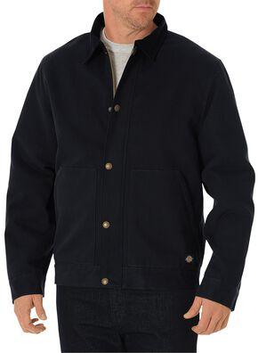 Dickies Sanded Duck Sherpa Lined Jacket, Black, hi-res