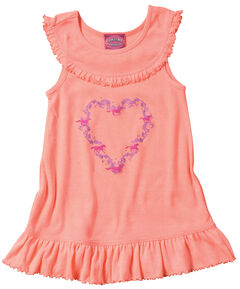 Cowgirl Hardware Infant/Toddler Girls' Heart Wreath Tank Dress, , hi-res