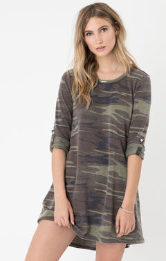 Z Supply Women's Camo Symphony Dress , , hi-res