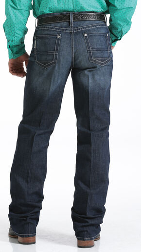 Cinch Grant Relaxed Fit Performance Jeans - Boot Cut , Indigo, hi-res