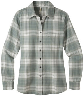 Mountain Khakis Women's Aspen Flannel Shirt, Cream, hi-res