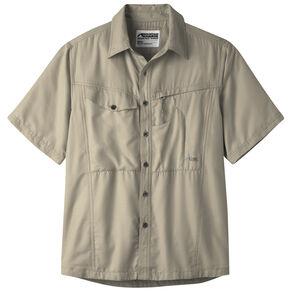 Mountain Khakis Men's Truffle Trail Creek Short Sleeve Shirt , Khaki, hi-res