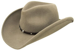 Wind River by Bailey Rider Khaki Western Hat, , hi-res