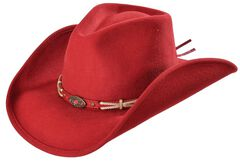 Bullhide Emotionally Charged Wool Cowgirl Hat, , hi-res