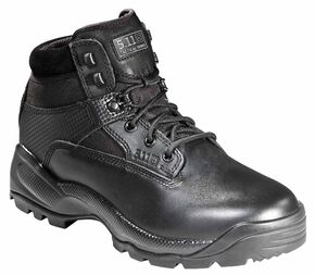 """5.11 Tactical Women's A.T.A.C. 6"""" Side Zip Boots, Black, hi-res"""