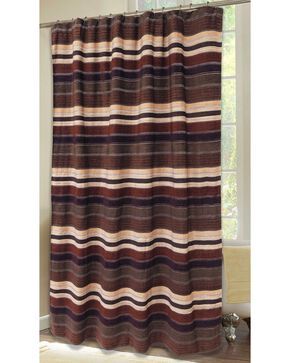 Carstens Old West Stripe Shower Curtain, Multi, hi-res