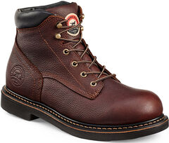 Red Wing Irish Setter Farmington Work Boots - Round Toe  , , hi-res