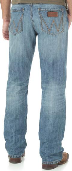 Wrangler Retro® Men's Blue Evanston Relaxed Jeans - Boot Cut, , hi-res