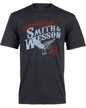 Smith & Wesson Men's American Made Gun Tee, Black, hi-res