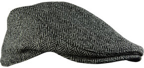 Stormy Kromer Men's Cabby Cap, Dark Grey, hi-res