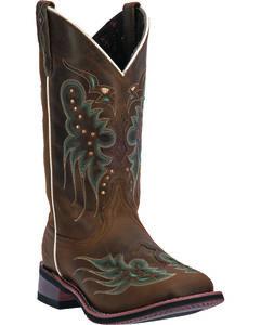 Laredo Women's Sadie Cowgirl Boots - Square Toe, , hi-res