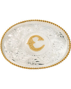 "Montana Silversmiths Initial ""C"" Buckle, , hi-res"