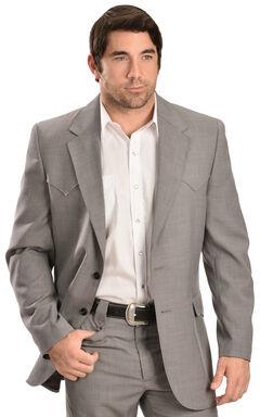 Circle S Steel Grey Lubbock Sport Coat - Big and Tall, , hi-res