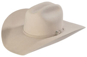 Justin Bent Rail 7X Bullet Fur Felt Cowboy Hat, Buck Tan, hi-res