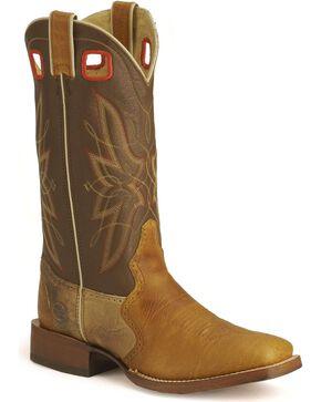 Double H Hip 2B Square Cowboy Boots - Square Toe, Caramel, hi-res