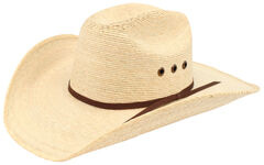 Ariat Natural Palm Tophand Straw Hat, , hi-res
