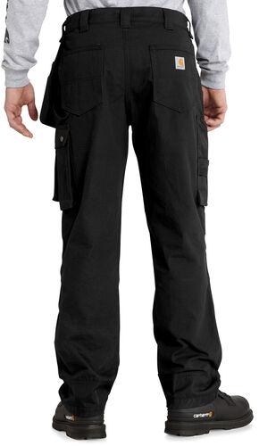 Carhartt Men's Lumberport Ripstop Pants, Black, hi-res