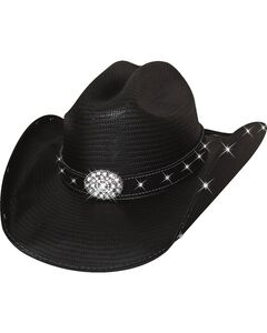 Bullhide Terri Clark Here For a Good Time Straw Cowgirl Hat, , hi-res