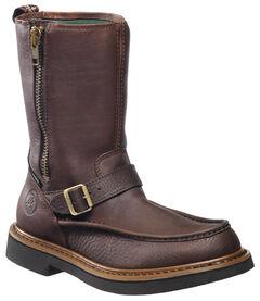 Georgia Side Zip Waterproof Wellington Work Boots - Round Toe, , hi-res