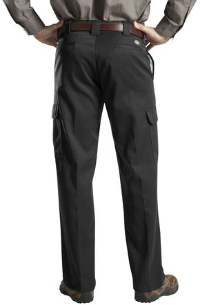 Dickies Cargo Work Pants, Black, hi-res