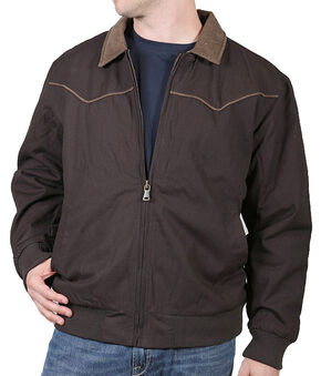 Cody James Men's Lone Star Jacket, Brown, hi-res