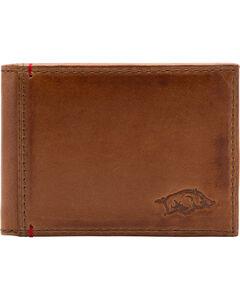 Jack Mason Men's University of Arkansas Campus Flip Bifold Wallet, , hi-res