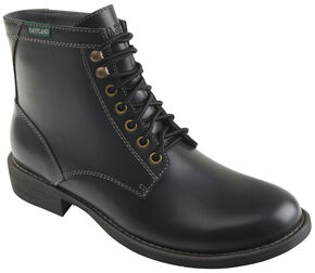 Eastland Men's Black Brent Plain Toe Boots, Black, hi-res