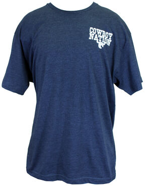 Cowboy Hardware Cowboy Nation Vintage Short Sleeve Tee, Navy, hi-res