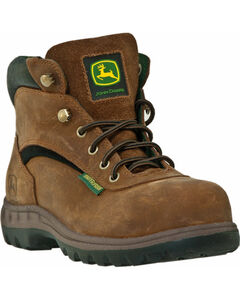 John Deere Women's Waterproof Hiking Work Boots, , hi-res