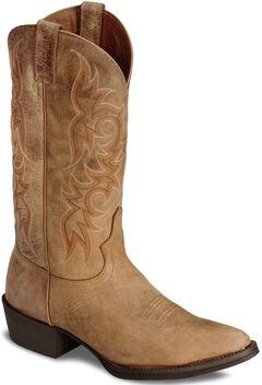 Justin Stampede Puma Cowboy Boots - Medium Toe, , hi-res