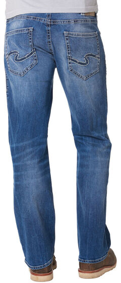 Silver Jeans Men's Zac Signature Relaxed Fit Straight Leg Jeans , , hi-res