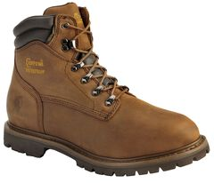 "Chippewa Waterproof & Insulated Tough 6"" Lace-Up Work Boots - Comp Toe, , hi-res"