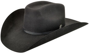Bailey Men's Murphy II 2X Black Cowboy Hat , Black, hi-res