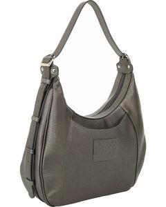 Designer Concealed Carry Grey Santa Fe Hobo Bag, , hi-res