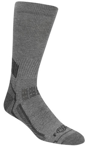 Carhartt Force® Performance Work Crew Socks  , Charcoal Grey, hi-res