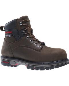 """Wolverine Men's Nation DuraShocks 6"""" Work Boots - Composite Toe, , hi-res"""