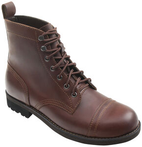 Eastland Men's Brown Jayce Cap Toe Boots, Brown, hi-res