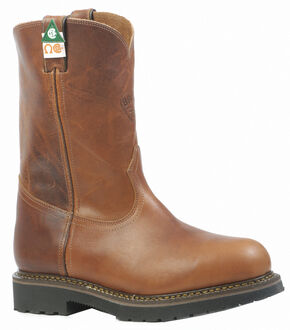 Boulet Grizzly Sand Work Boots - Steel Toe, Sand, hi-res