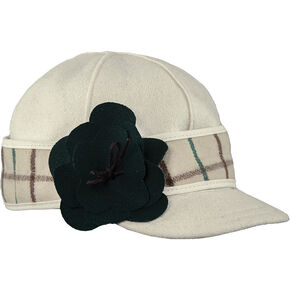 Stormy Kromer Women's Petal Pusher Cap, Cream, hi-res