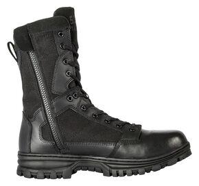 """5.11 Tactical EVO 8"""" Side-Zip Boots, Black, hi-res"""