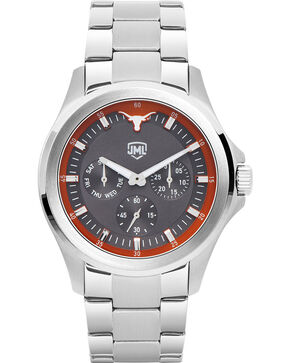 Jack Mason Men's Silver Texas Multi-Function Watch , Silver, hi-res